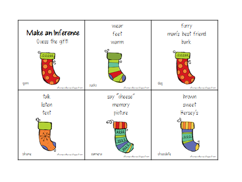 Free inference worksheets