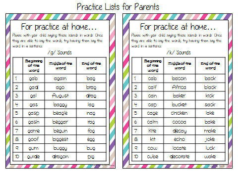 Parent Teacher Conference Speech and Language Forms Speech Peeps – Conference Sign Up Sheet Template