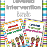 Leveled Intervention Bundle