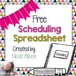 Free Scheduling