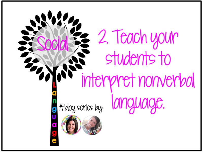 language in the classroom social skills � speech peeps
